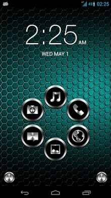 Metal Smart Launcher Android Theme Image 1