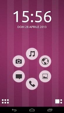Ubuntu Smart Launcher Android Theme Image 1