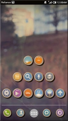 Shadow Smart Launcher Android Theme Image 1