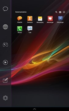 Xperia Smart Launcher Android Theme Image 2