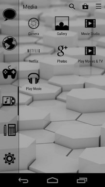 Absence Of Light Smart Launcher Android Theme Image 2