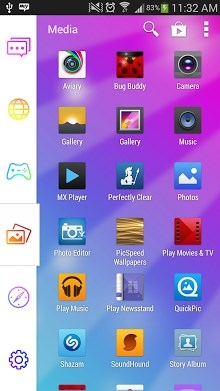 Colorful Smart Launcher Android Theme Image 2