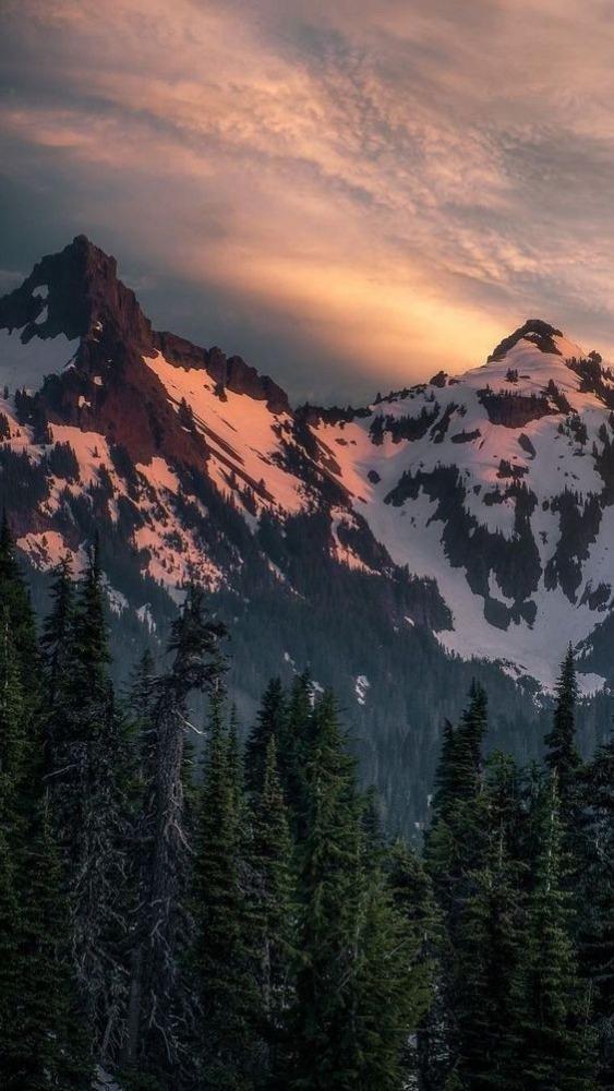 Mountain Mobile Phone Wallpaper Image 1