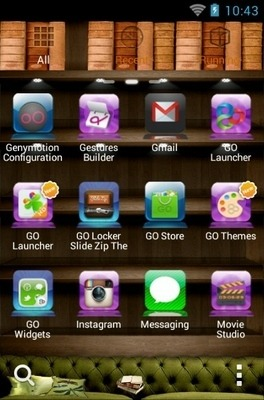 iPhone Go Launcher Android Theme Image 2