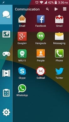 Flat Smart Launcher Android Theme Image 2