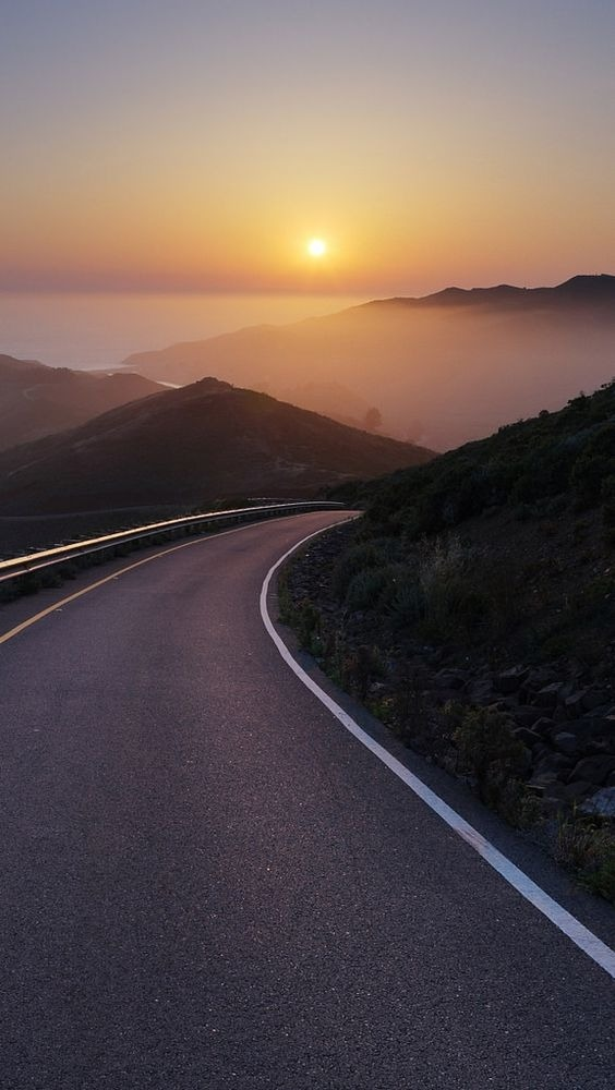 Road Android Wallpaper Image 1