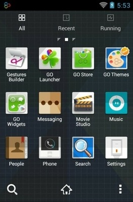 Origami Go Launcher Android Theme Image 2