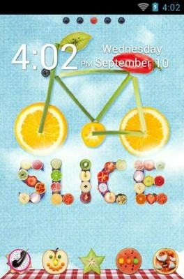 Slice Go Launcher Android Theme Image 1