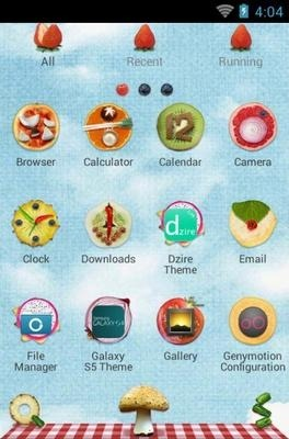 Slice Go Launcher Android Theme Image 2