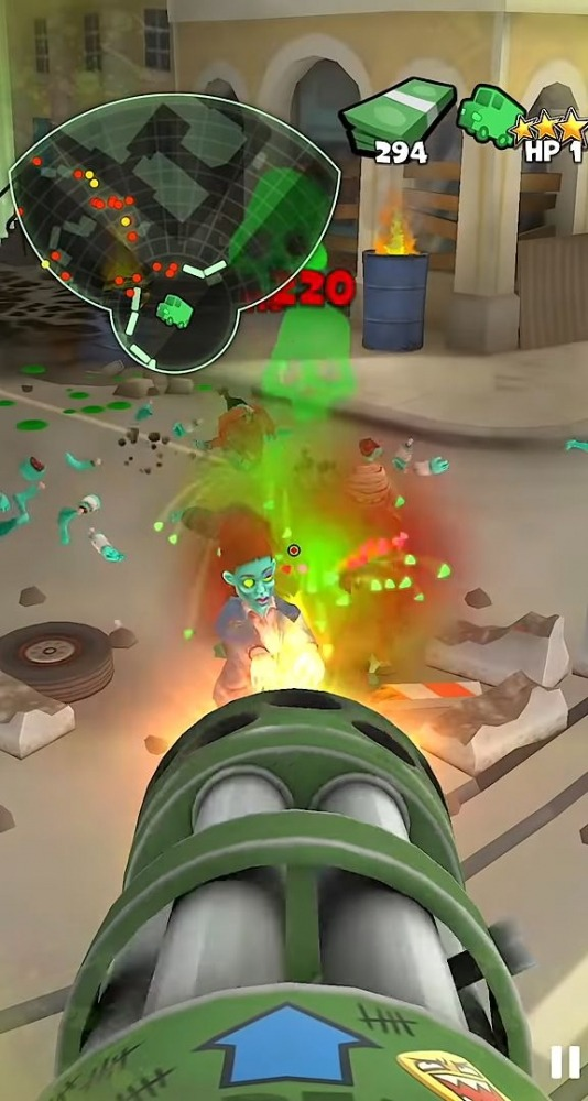 Snipers Vs Thieves: Zombies! Android Game Image 1