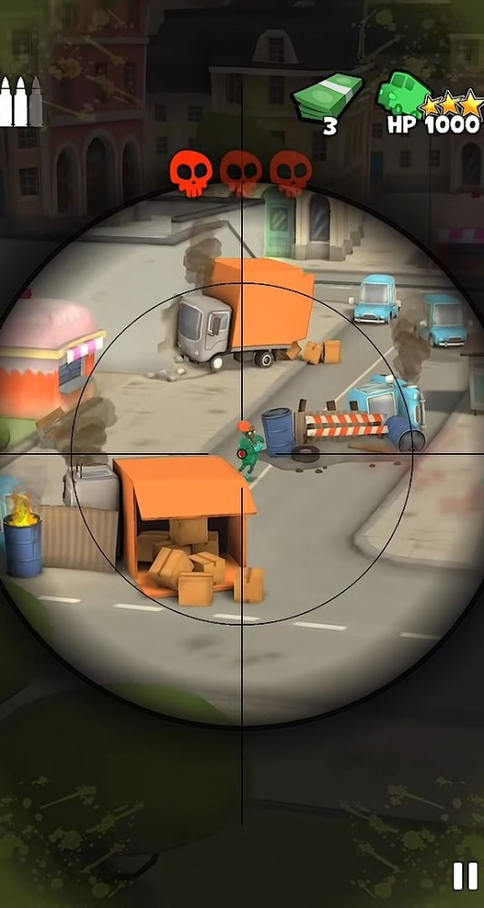 Snipers Vs Thieves: Zombies! Android Game Image 2
