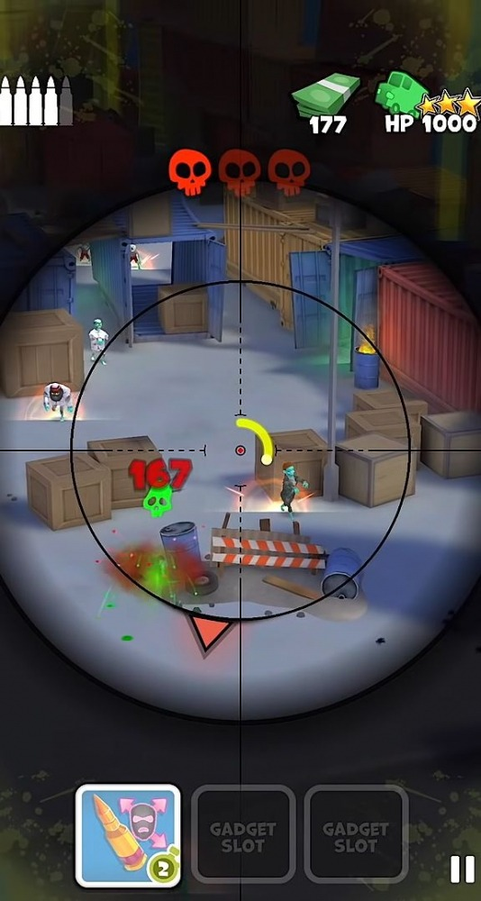 Snipers Vs Thieves: Zombies! Android Game Image 4