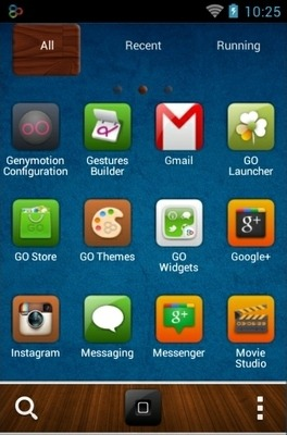 Android Style Go Launcher Android Theme Image 2