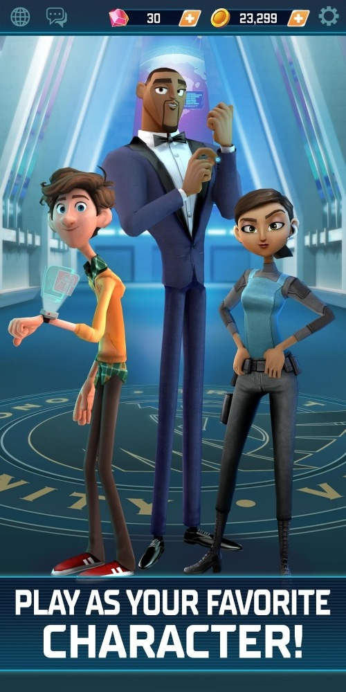 Spies In Disguise: Agents On The Run Android Game Image 1