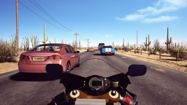 Traffic Fever-Moto Android Game Image 1
