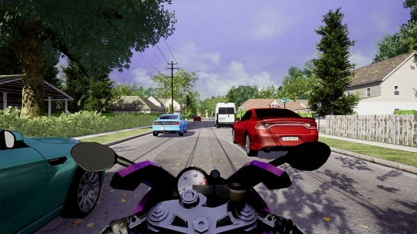 Traffic Fever-Moto Android Game Image 2