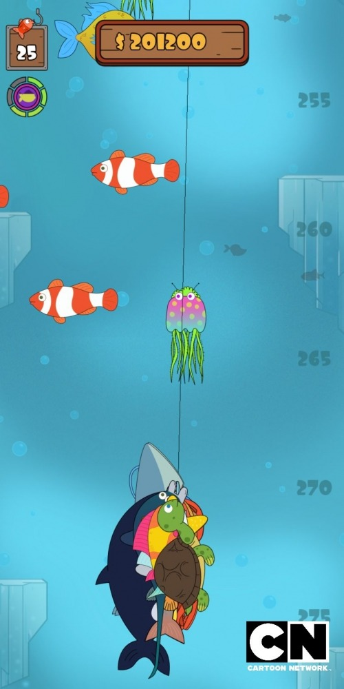 We Bare Bears: Crazy Fishing Android Game Image 2