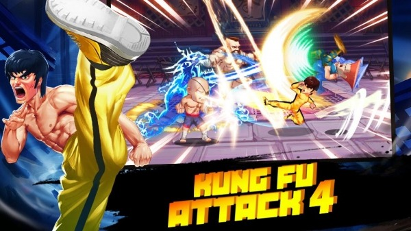 Kung Fu Attack 4 - Shadow Legends Fight Android Game Image 1
