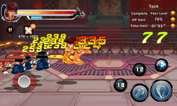 Kung Fu Attack 4 - Shadow Legends Fight Android Game Image 2