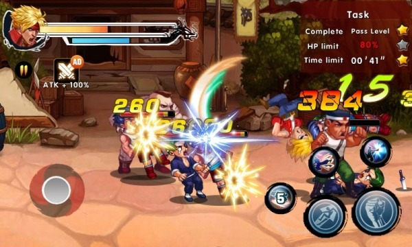 Kung Fu Attack 4 - Shadow Legends Fight Android Game Image 3