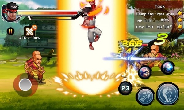 Kung Fu Attack 4 - Shadow Legends Fight Android Game Image 4