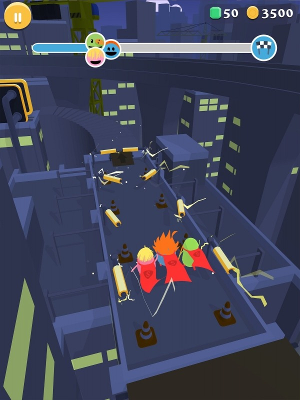 Dumb Ways To Die: Superheroes Android Game Image 4