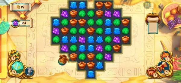 Jewels Of Egypt: Match Game Android Game Image 2
