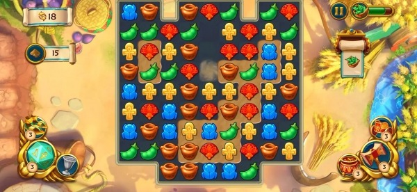 Jewels Of Egypt: Match Game Android Game Image 4