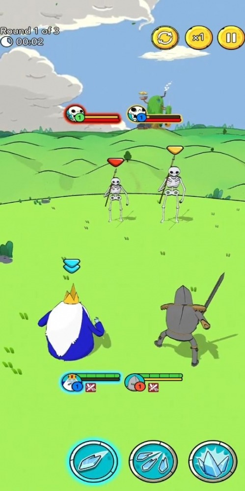 Adventure Time Heroes Android Game Image 3