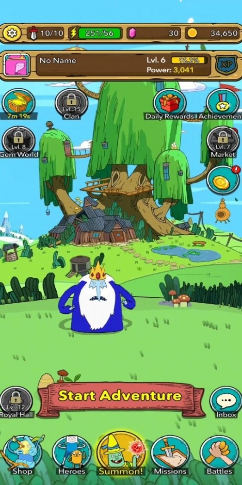 Adventure Time Heroes Android Game Image 4