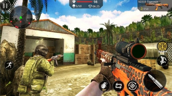 Encounter Strike:Real Commando Secret Mission 2020 Android Game Image 2
