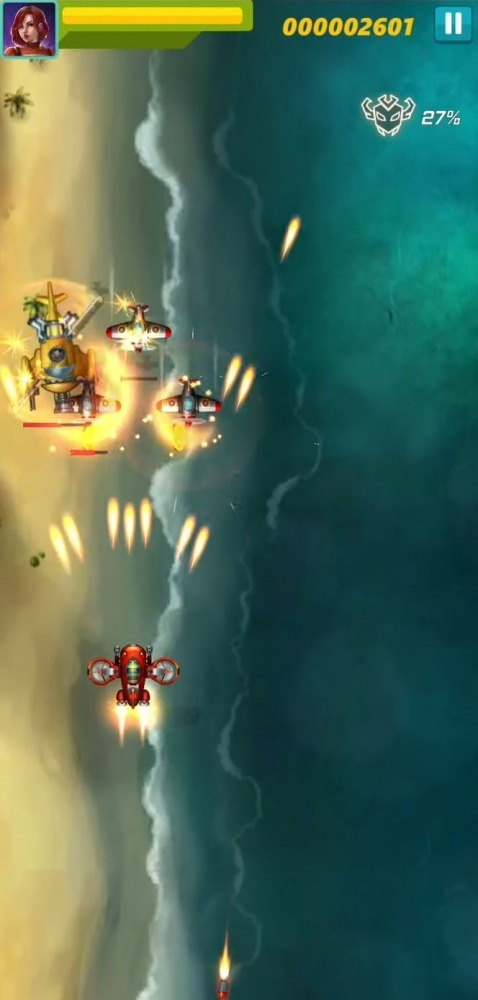 Sky Raptor: Space Invaders Android Game Image 2