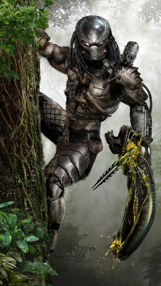 Predator Android Wallpaper Image 1