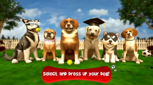 Virtual Puppy Simulator Android Game Image 1