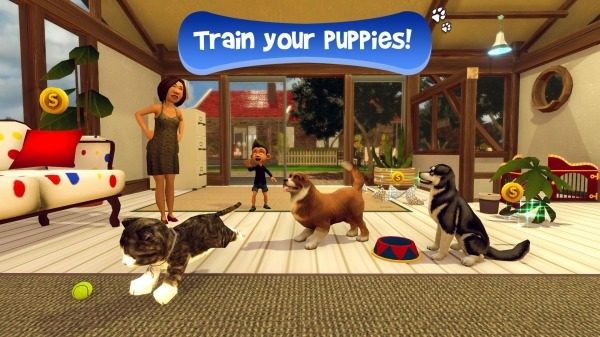 Virtual Puppy Simulator Android Game Image 2