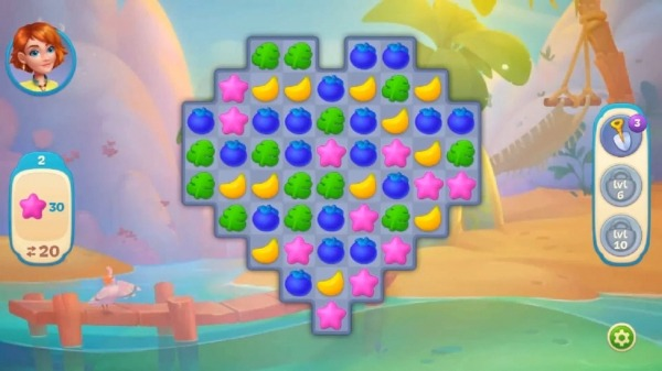 Hawaii Match-3 Mania Home Design & Matching Puzzle Android Game Image 2