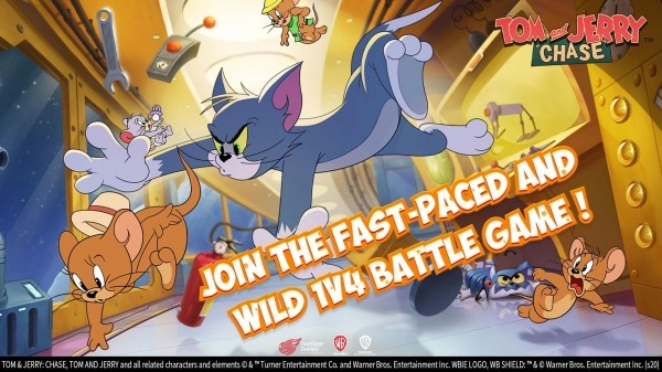 Tom And Jerry: Chase Android Game Image 1