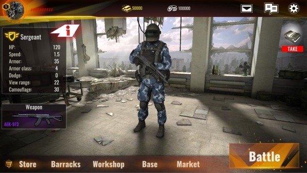 PROJECT Anomaly: Online Tactics 2vs2 Android Game Image 1