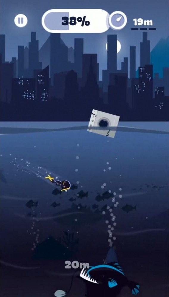Crazy Diver Android Game Image 1