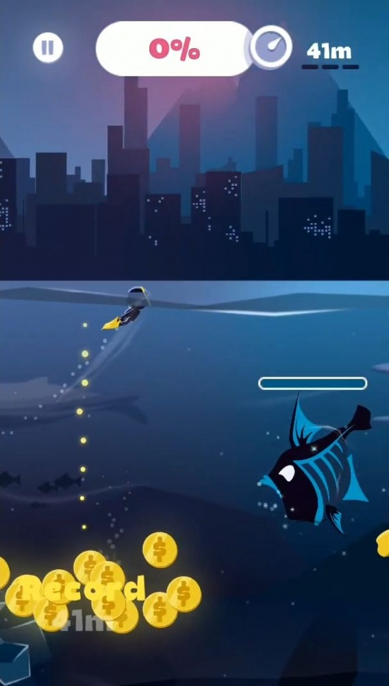 Crazy Diver Android Game Image 2