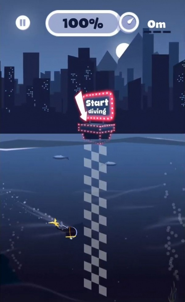 Crazy Diver Android Game Image 3