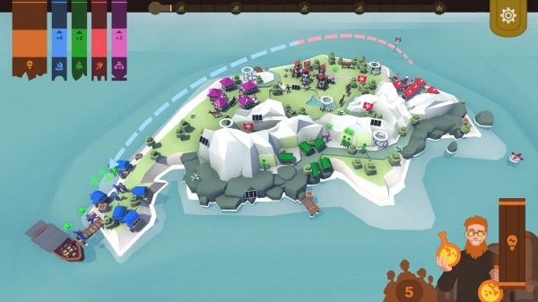 Democratia: The Isle Of Five Android Game Image 2