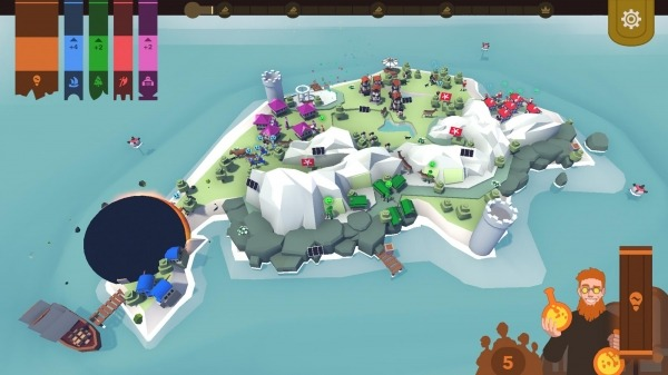 Democratia: The Isle Of Five Android Game Image 3