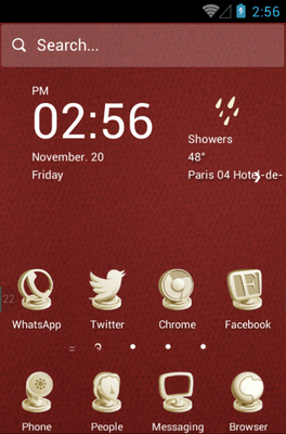Clay Sculptures Hola Launcher Android Theme Image 1