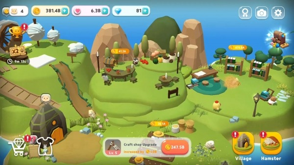 Hamster Village Android Game Image 1