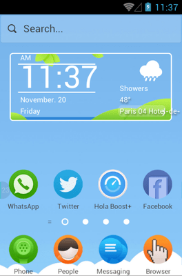 Picnic Hola Launcher Android Theme Image 1