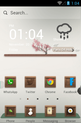 Remember Hola Launcher Android Theme Image 1