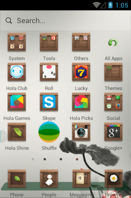 Remember Hola Launcher Android Theme Image 2