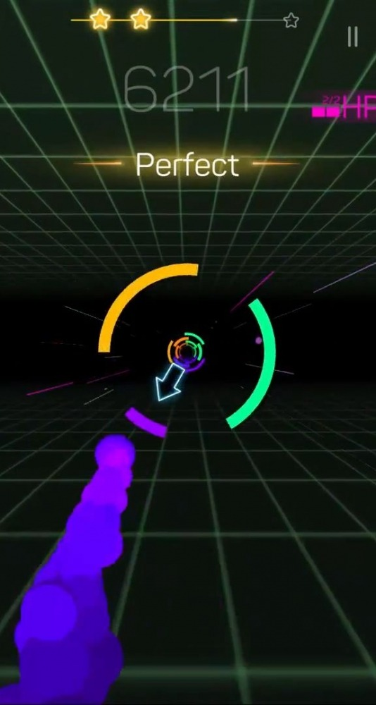 Smash Colors 3D - EDM Rush The Circles Android Game Image 2