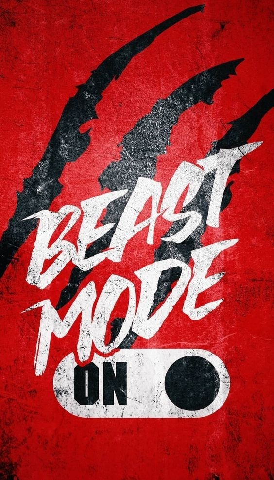 Beast Mode Android Wallpaper Image 1